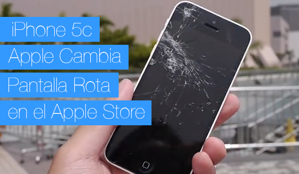 iPhone 5c Cambio Pantalla Apple Store