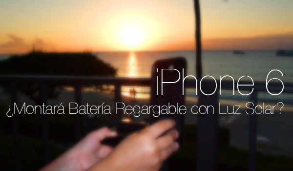 iPhone 6 Bateria Solar