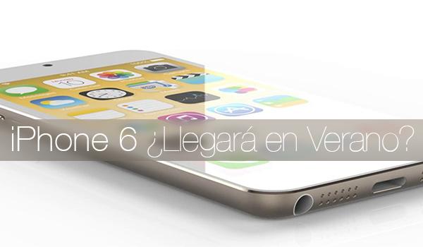 iPhone 6 Verano 2014