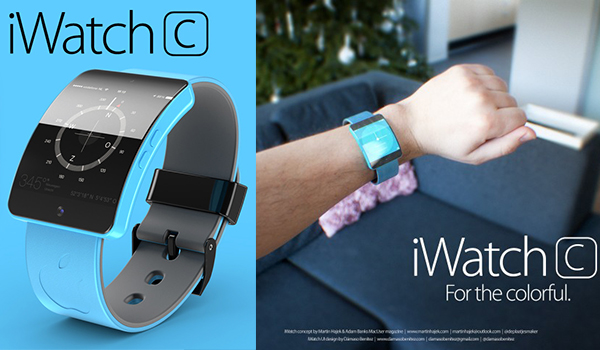 iWatch C - Concepto