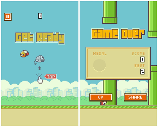 iphone with flappy bird c 243 mo jugar flappy bird desde el navegador iphone y 15544