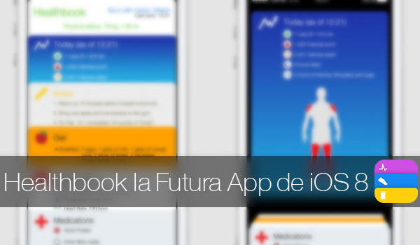 Healthbook App iOS 8