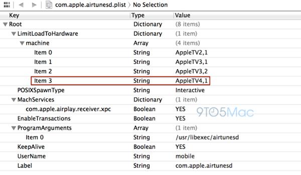 iOS 7 Apple TV 4