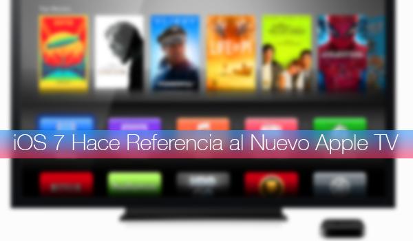 iOS 7 Nuevo Apple TV