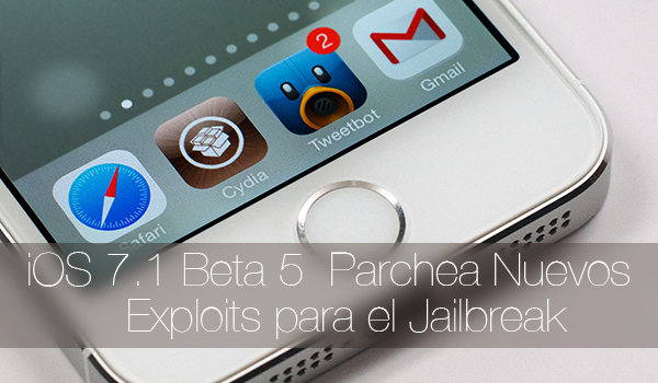 iOS 7.1 Beta 5 Parchea Jailbreak