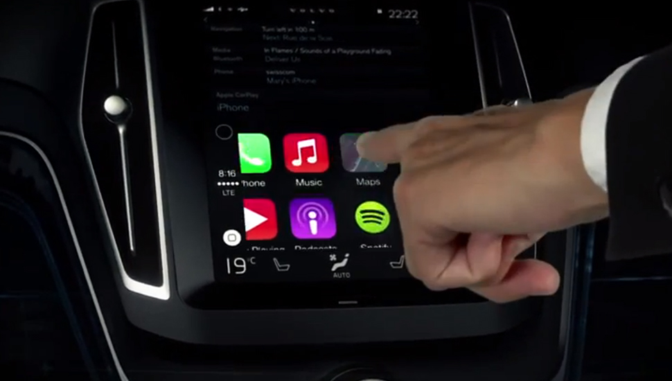CarPlay Mapas