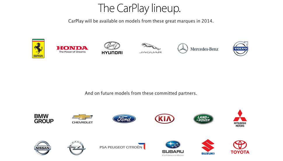 CarPlay iOS in Car - Partners