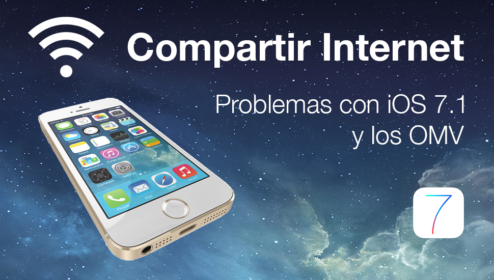 Compartir Internet Problemas iOS 7.1