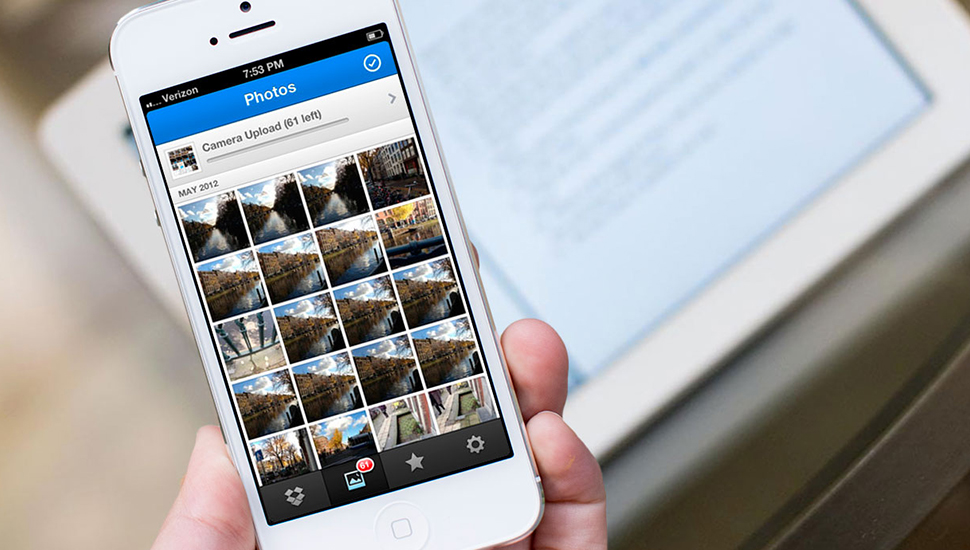 Dropbox Sincronizar Fotos iPhone