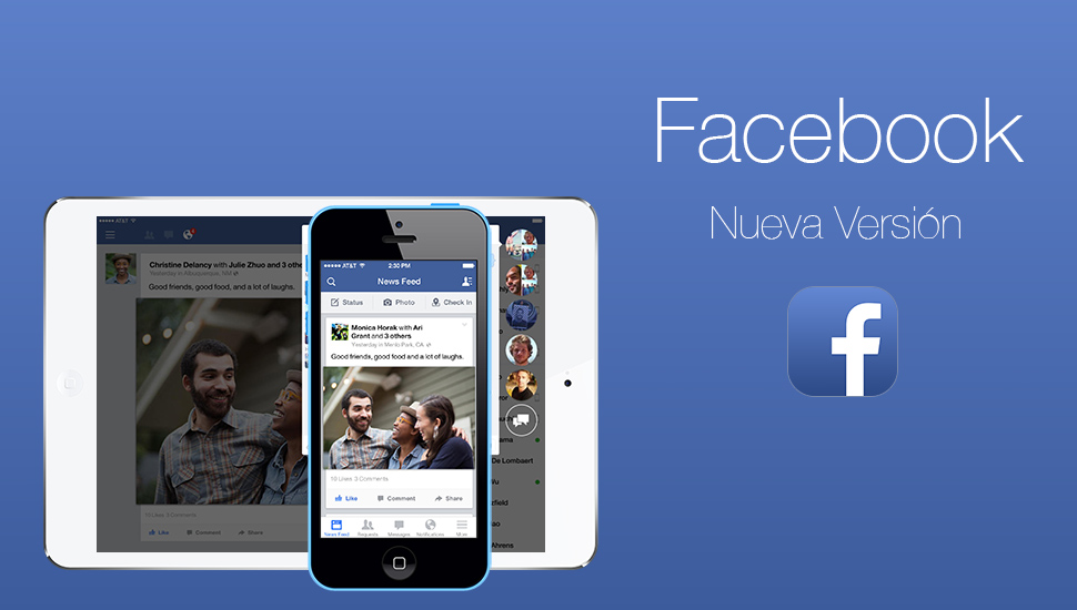 Facebook - Nueva Version