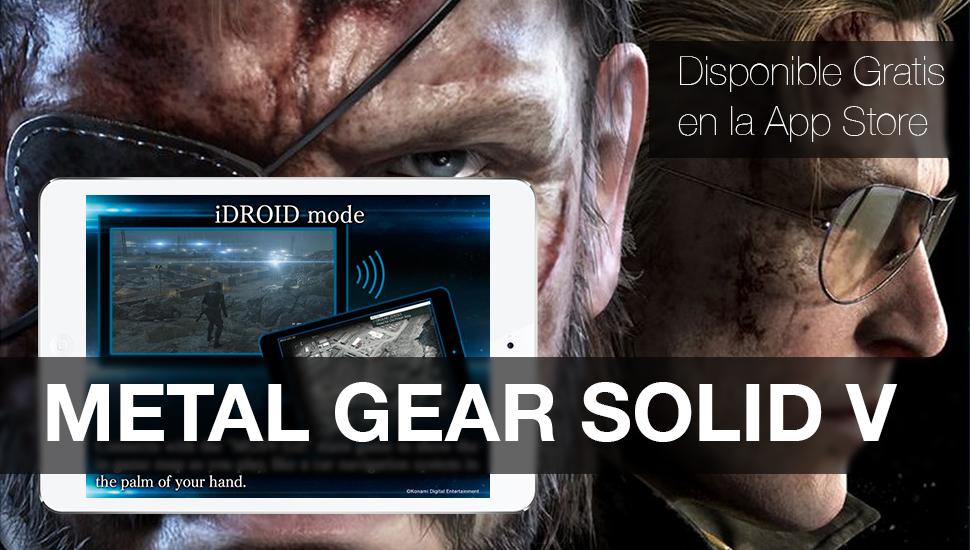 Metal Gear Solid 5 - Gratis App Store