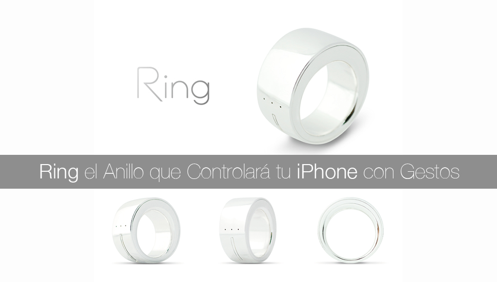 Ring Anillo Contraldor iPhone
