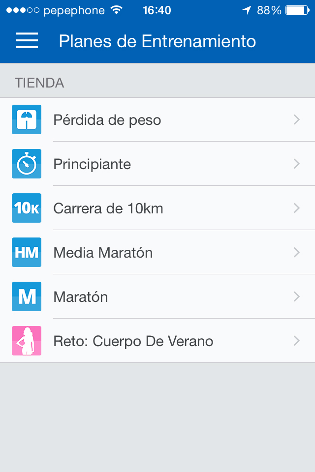 Runtastic - screenshot 14