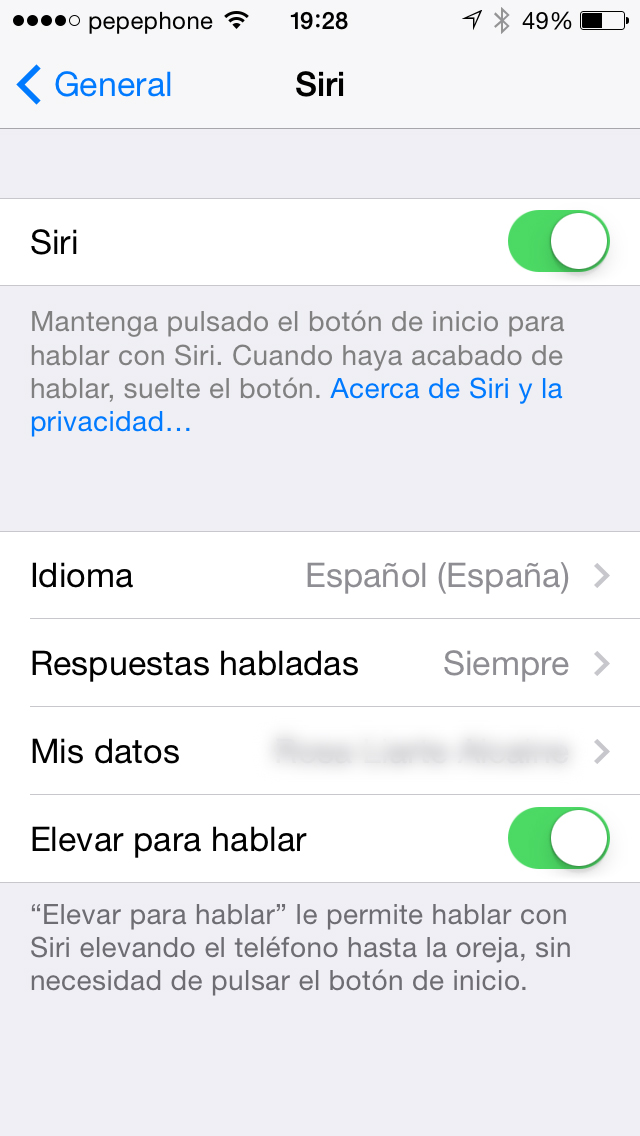Siri iOS 7.1 - screenshot 2