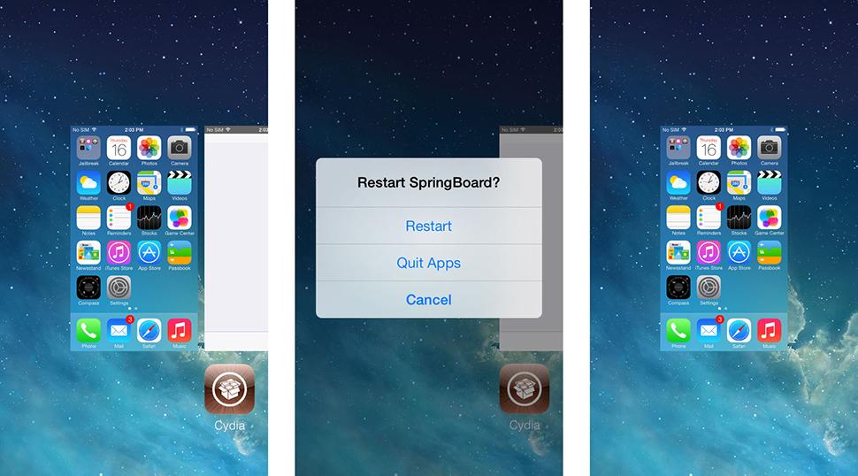 Switchspring iPhone Tweak