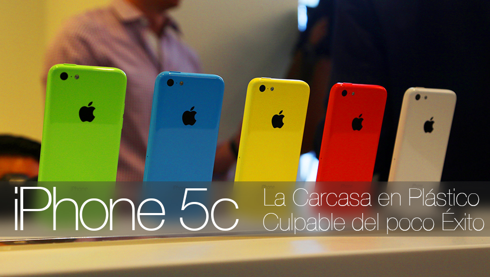 iPhone 5c Carcasa Plastico
