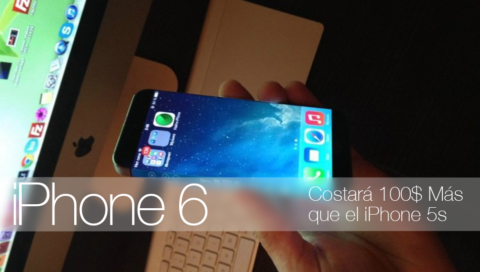 iPhone 6 Mas Caro iPhone 5s