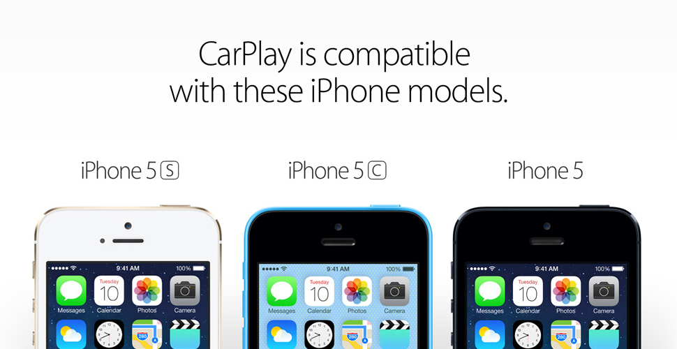 iPhone Compatible CarPlay