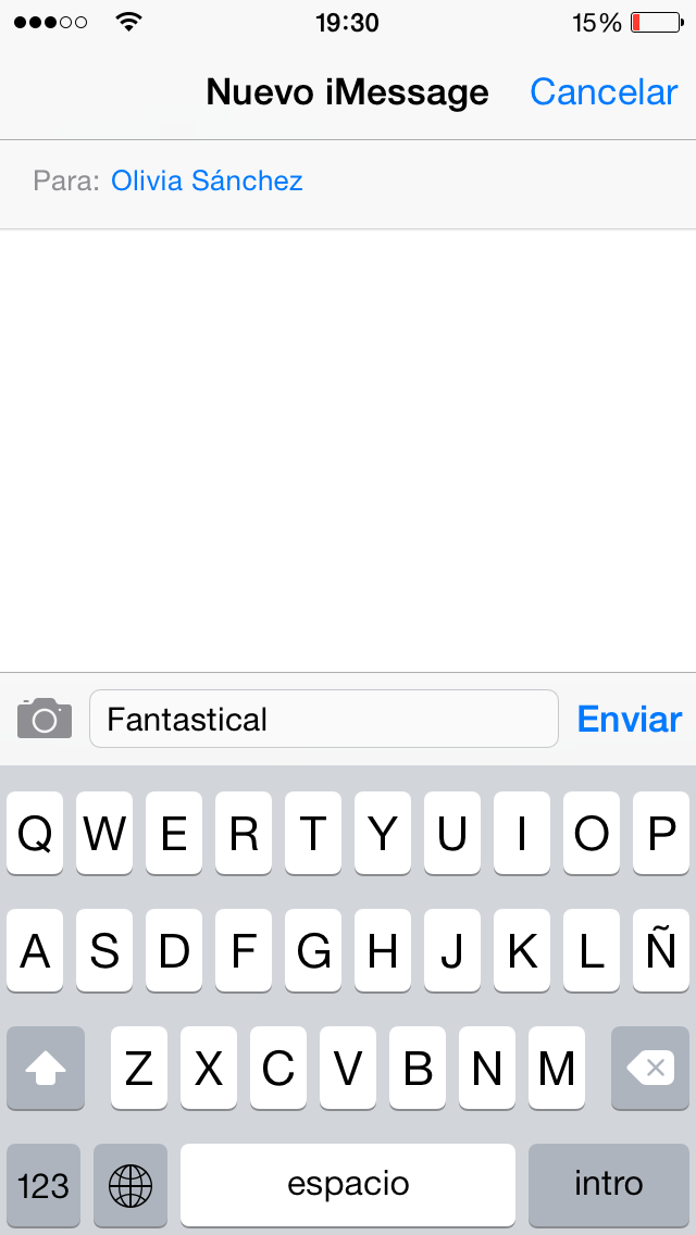 Diccionario iOS - screenshot 3
