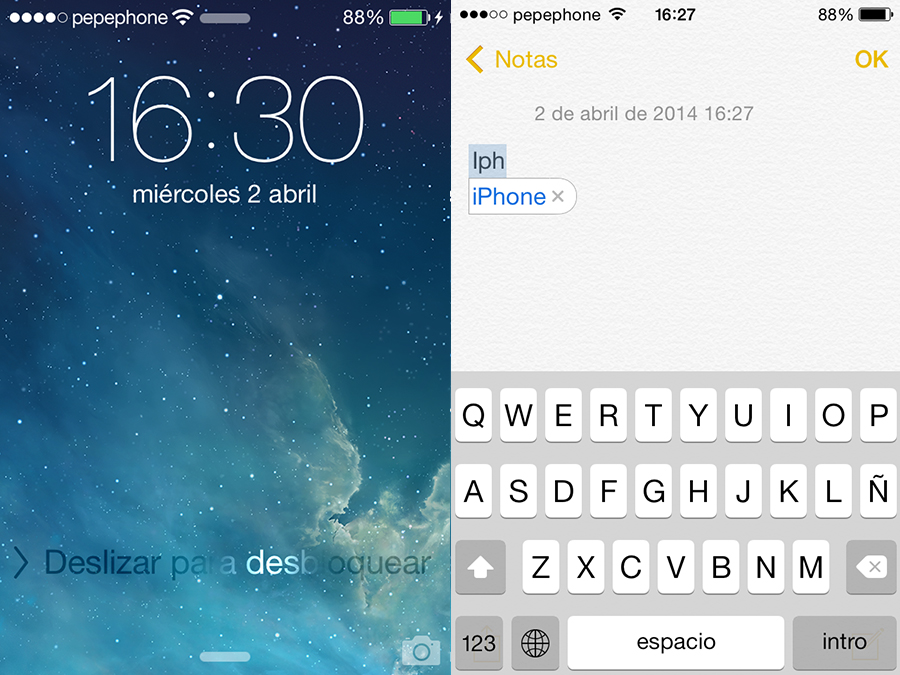 Caracteristicas Samsung Copiado Apple - Desbloqueo - Corrector