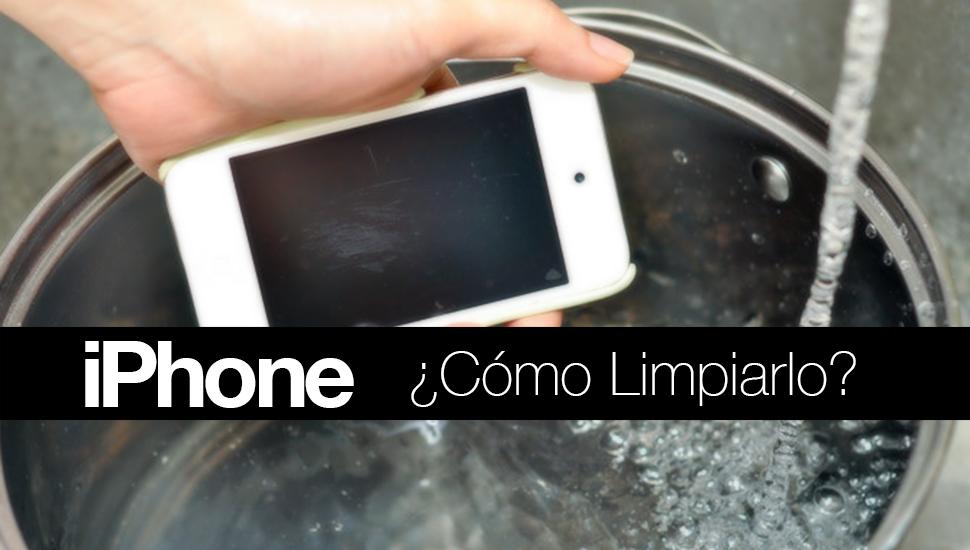 Como Limpiar iPhone