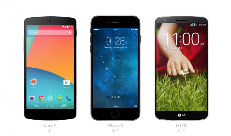 Comparativa-iPhone-6-Nexus-5-LG-G2
