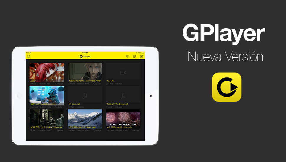 GPlayer - Nueva Version