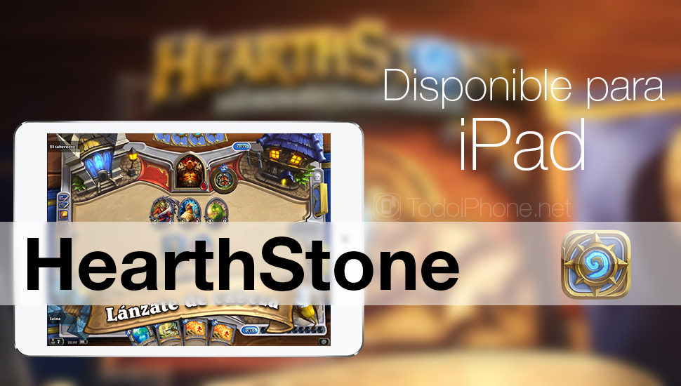 Hearthstone- Heroes of Warcraft iPad