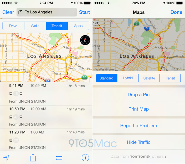Maps Trafico - iOS 8 Rumor