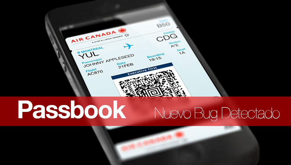 Passbook Bug iOS 7