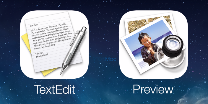 Preview Texedit - iOS 8 Rumor