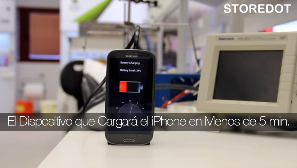 StoreDot Cargador iPhone