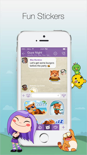 Viber - screenshot 1