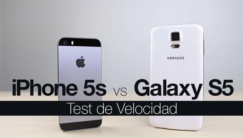 iphone 5s vs galaxy s5 iphone 5s vs galaxy s5 el test de velocidad en v 237 deo 3076