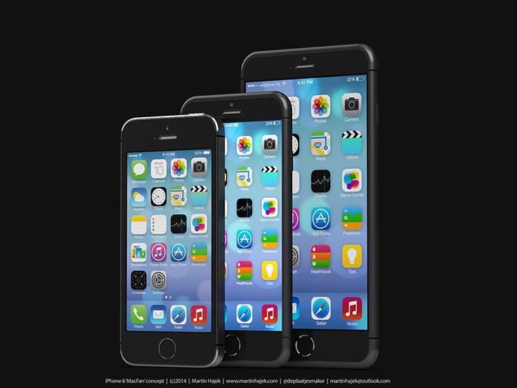 iPhone 6 Nuevo Concepto Hajek - Familia