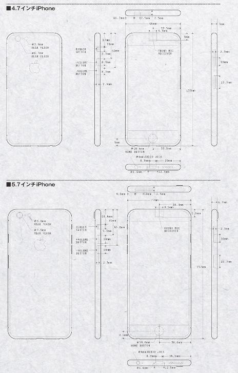 iPhone 6 - Planos Tecnicos
