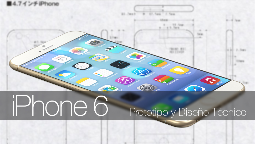iPhone 6 - Prototipo Plano