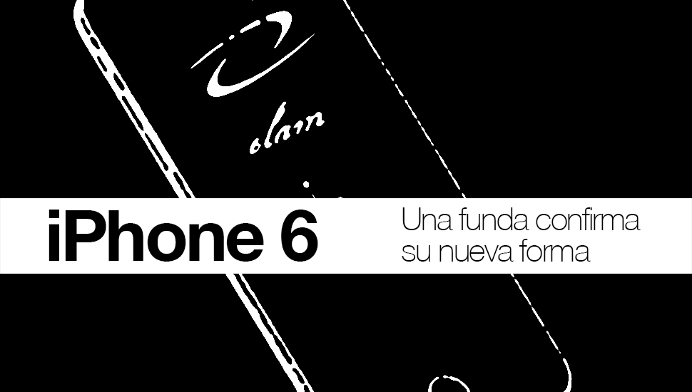 iPhone 6 funda confirma forma