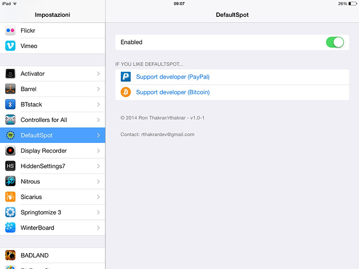 DefaultSpot-tweak-screenshot-1