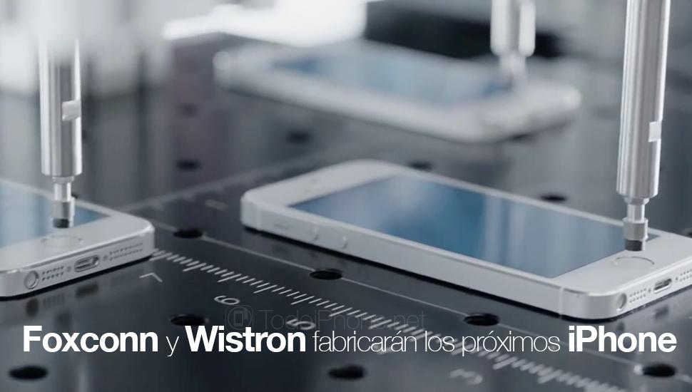 Foxconn-Wistron-fabricaran-iPhone