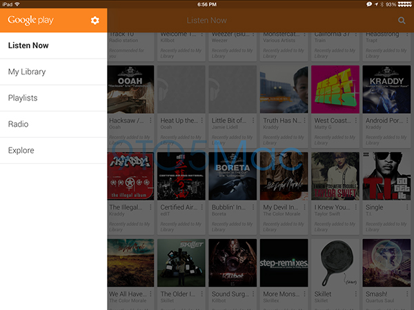 Google-Play-Music-iPad-screenshot-4