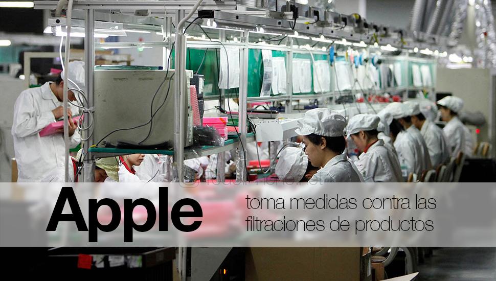 Apple нанять китайских агентов, чтобы избежать утечек продукта