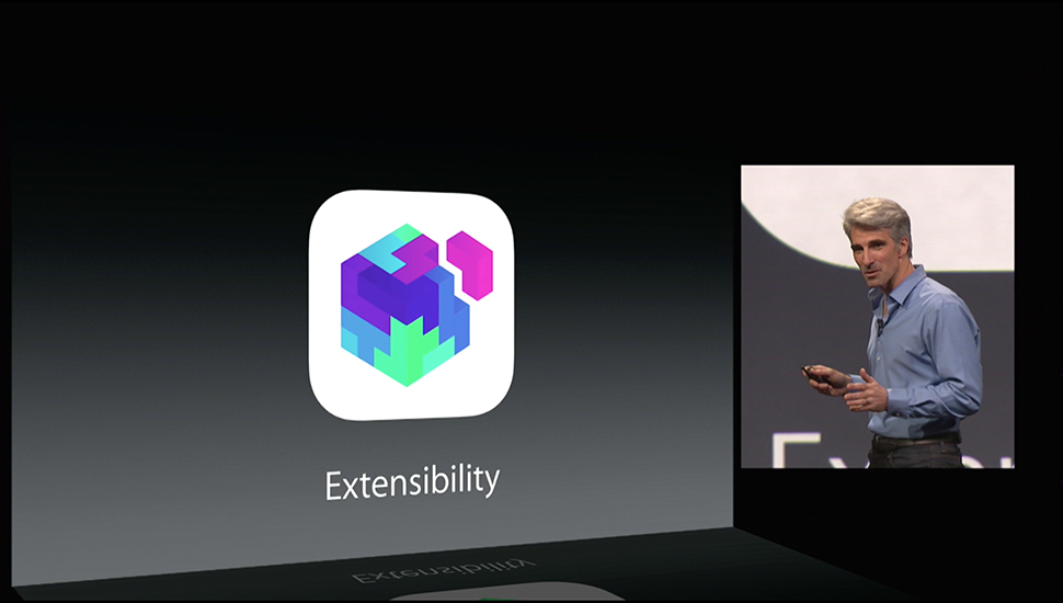 iOS 8: This is how the extensibility of Apps will work 1