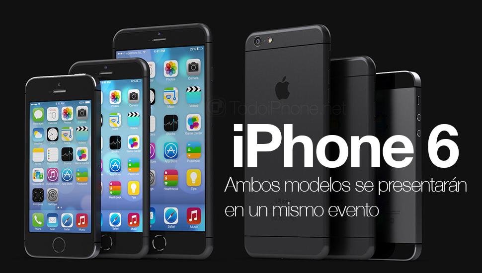 modelos-iphone-6-lanzamiento-simultaneo