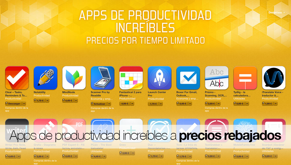 apps-productividad-rebaja