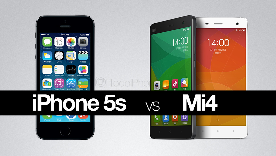 iPhone-5s-vs-Xiaomi-Mi4