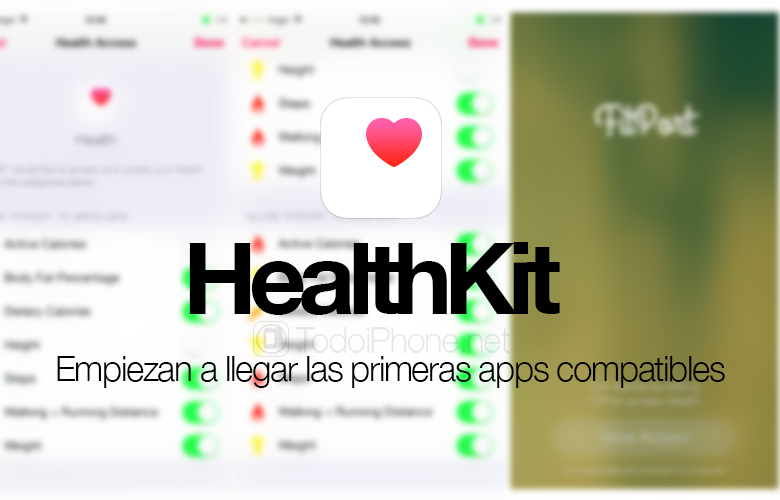 Apps compatible with HealthKit start appearing in the App Store 1