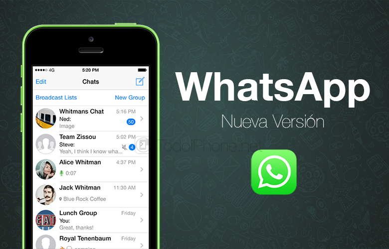 WhatsApp is already compatible with iPhone 6 and iPhone 6 Plus 1