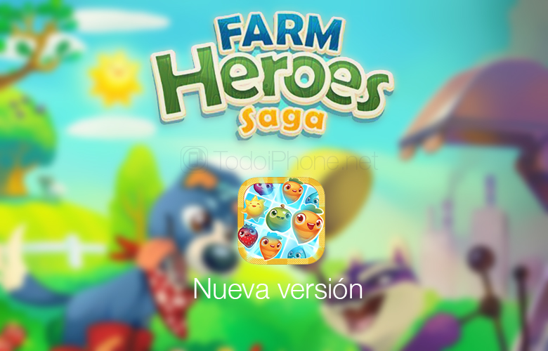 Farm Heroes Saga, new and fun levels available for iPhone and iPad 1