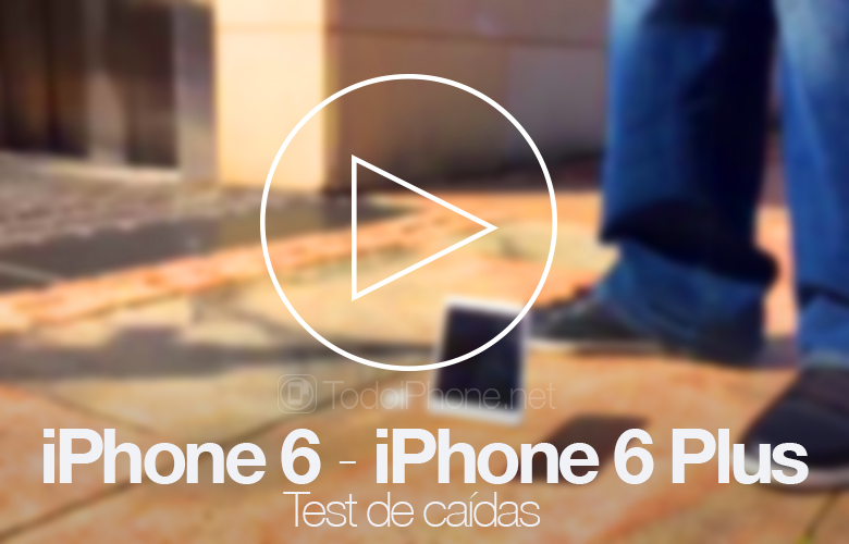 iPhone 6 and iPhone 6 Plus, first drop test 1